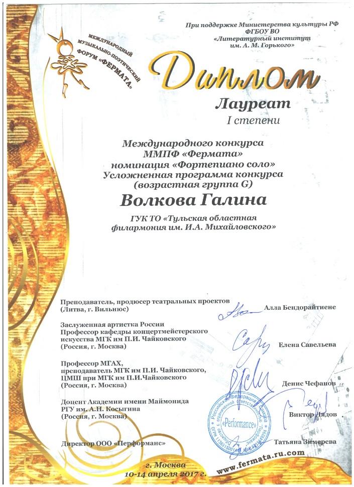 Международные конкурсы фортепианных дуэтов